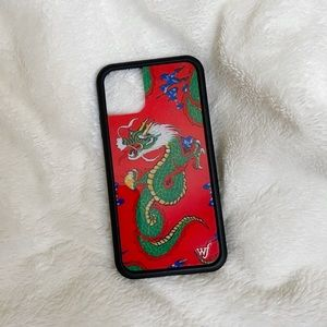 Wildflower iPhone 11 Red Dragon Case